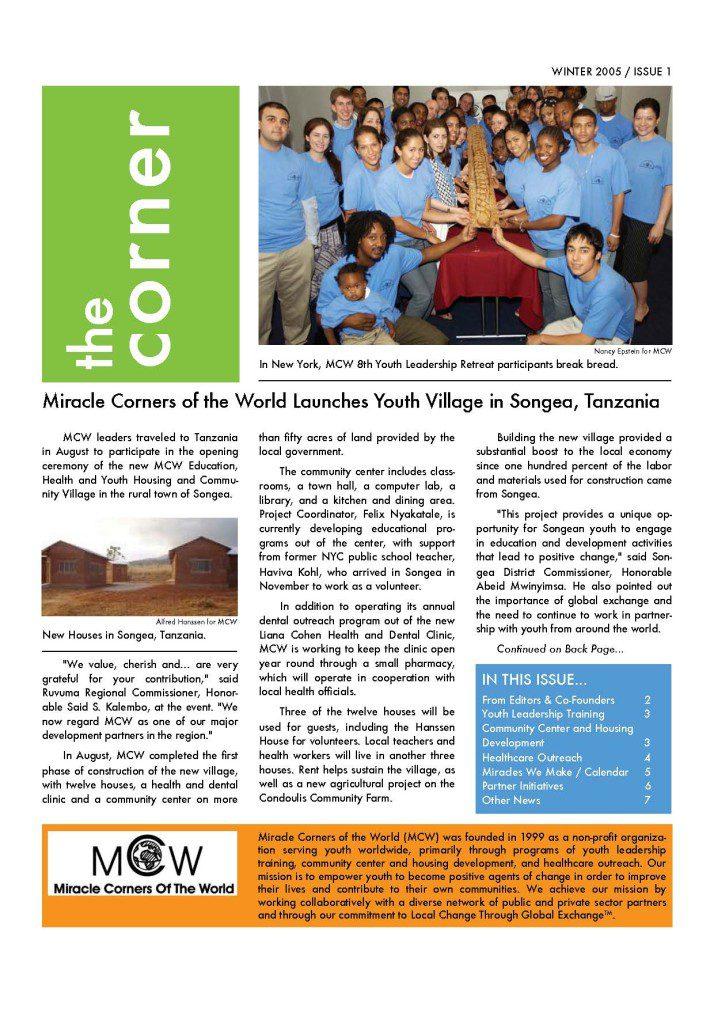 MCW The Corner 1