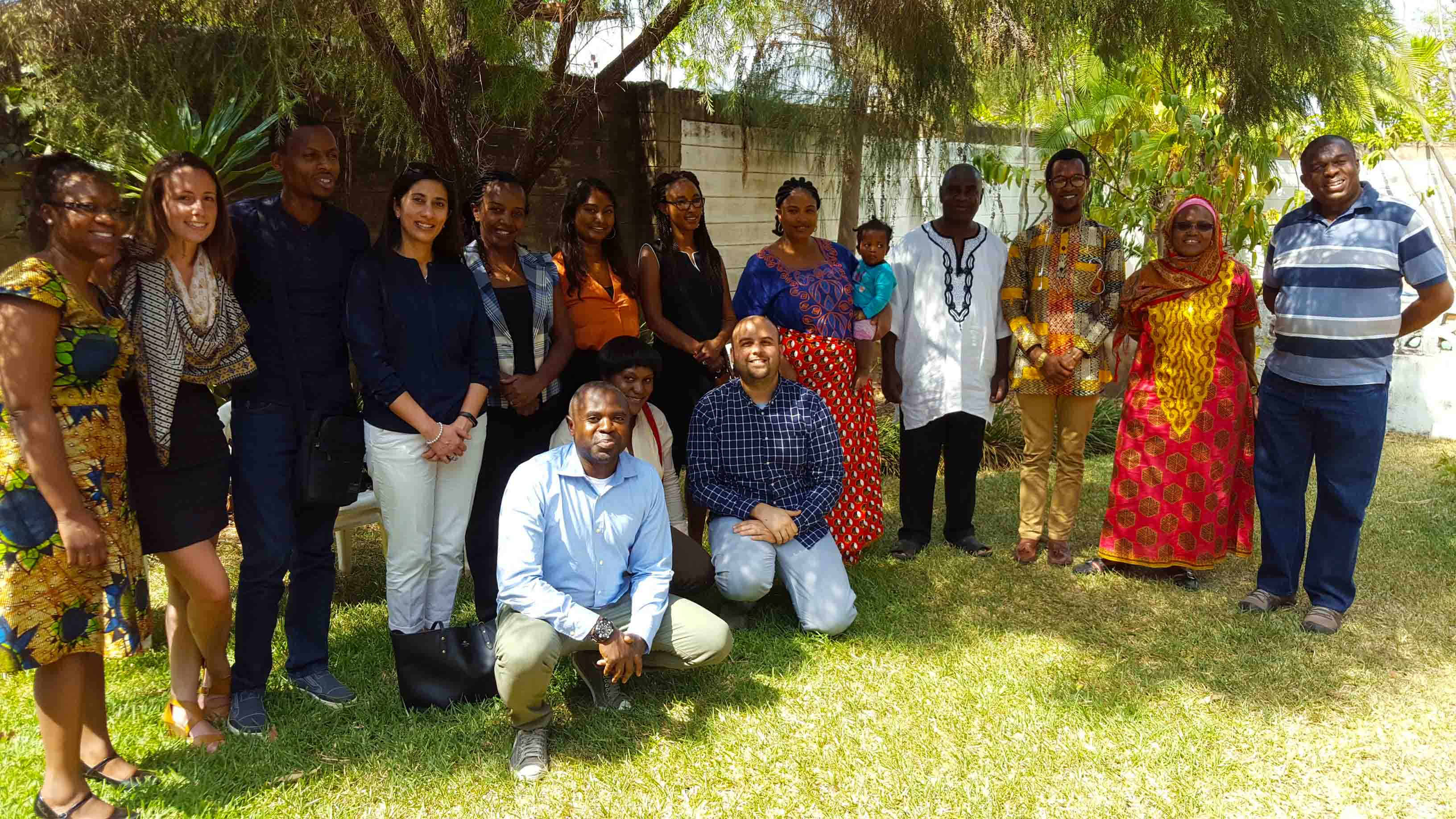 Team members from MCW's international network meet in Lusaka, Zambia for the Fourth Community Leaders Seminar in October 2016