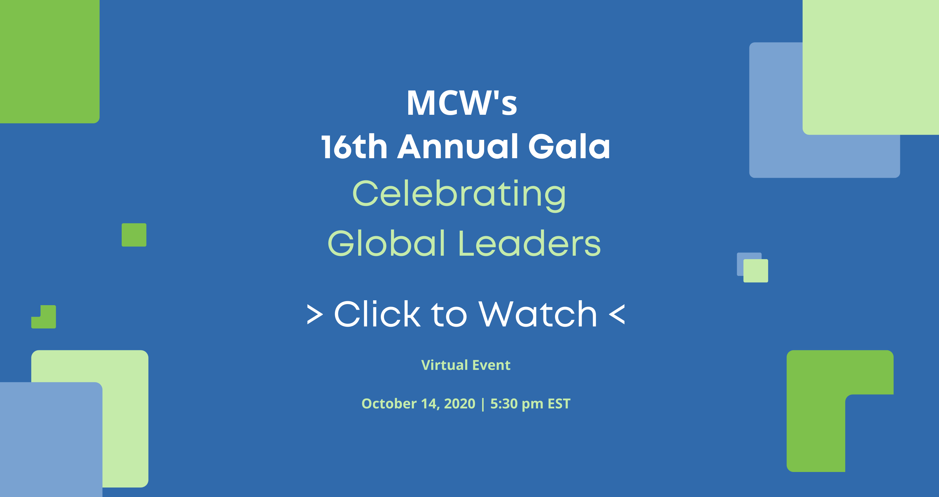 Watch MCW's 16th Annual Gala